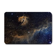 Seagull Nebula Small Doormat  by SpaceShop