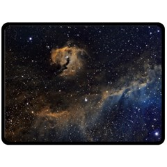 Seagull Nebula Fleece Blanket (large)  by SpaceShop