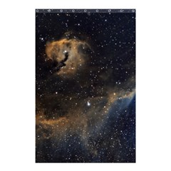 Seagull Nebula Shower Curtain 48  X 72  (small)  by SpaceShop