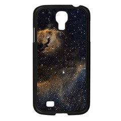 Seagull Nebula Samsung Galaxy S4 I9500/ I9505 Case (black) by SpaceShop
