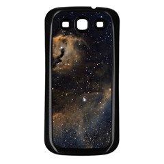 Seagull Nebula Samsung Galaxy S3 Back Case (black) by SpaceShop