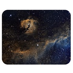 Seagull Nebula Double Sided Flano Blanket (medium)  by SpaceShop
