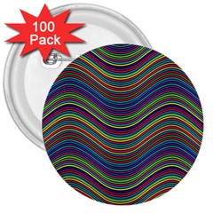 Pattern 3  Buttons (100 Pack)  by Valentinaart