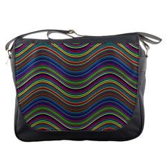 Pattern Messenger Bags by Valentinaart