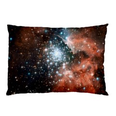 Star Cluster Pillow Case (two Sides) by SpaceShop