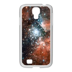 Star Cluster Samsung Galaxy S4 I9500/ I9505 Case (white) by SpaceShop