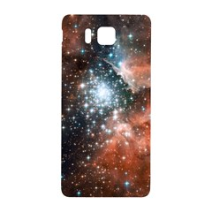 Star Cluster Samsung Galaxy Alpha Hardshell Back Case by SpaceShop