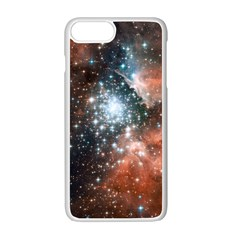 Star Cluster Apple Iphone 7 Plus White Seamless Case by SpaceShop