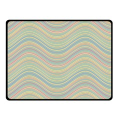 Pattern Double Sided Fleece Blanket (small)  by Valentinaart