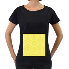 Pattern Women s Loose Fit T Shirt (black) by Valentinaart