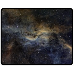 Propeller Nebula Fleece Blanket (medium)  by SpaceShop