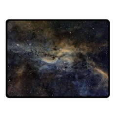 Propeller Nebula Double Sided Fleece Blanket (small)  by SpaceShop
