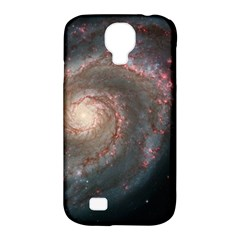 Whirlpool Galaxy And Companion Samsung Galaxy S4 Classic Hardshell Case (pc+silicone) by SpaceShop