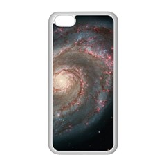 Whirlpool Galaxy And Companion Apple Iphone 5c Seamless Case (white) by SpaceShop