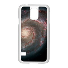 Whirlpool Galaxy And Companion Samsung Galaxy S5 Case (white) by SpaceShop