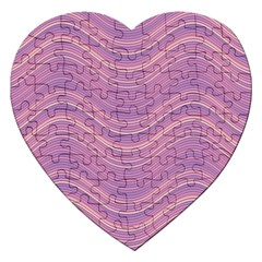 Pattern Jigsaw Puzzle (heart) by Valentinaart