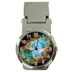Crab Nebula Money Clip Watches