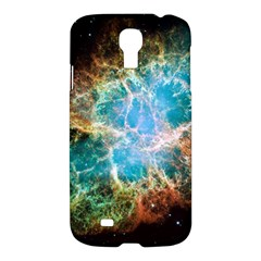 Crab Nebula Samsung Galaxy S4 I9500/i9505 Hardshell Case by SpaceShop