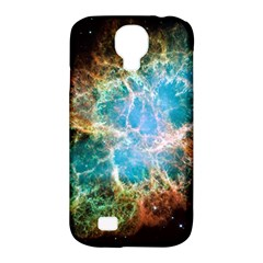 Crab Nebula Samsung Galaxy S4 Classic Hardshell Case (pc+silicone) by SpaceShop