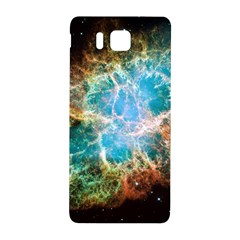 Crab Nebula Samsung Galaxy Alpha Hardshell Back Case by SpaceShop