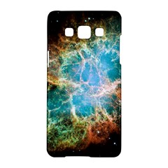 Crab Nebula Samsung Galaxy A5 Hardshell Case  by SpaceShop