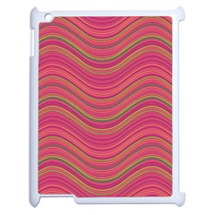 Pattern Apple Ipad 2 Case (white) by Valentinaart