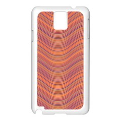 Pattern Samsung Galaxy Note 3 N9005 Case (white) by Valentinaart