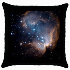 New Stars Throw Pillow Case (black) by SpaceShop