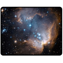 New Stars Fleece Blanket (medium)  by SpaceShop