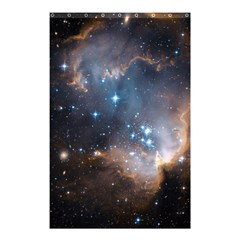 New Stars Shower Curtain 48  X 72  (small)  by SpaceShop