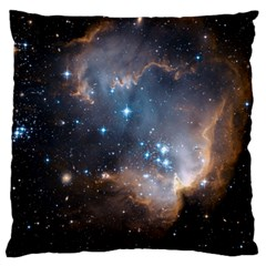 New Stars Large Flano Cushion Case (one Side) by SpaceShop