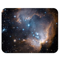 New Stars Double Sided Flano Blanket (medium)  by SpaceShop