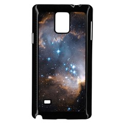 New Stars Samsung Galaxy Note 4 Case (black) by SpaceShop