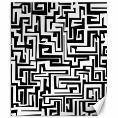 Pattern Canvas 20  X 24   by Valentinaart