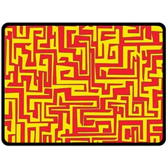 Pattern Double Sided Fleece Blanket (large)