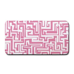 Pink Pattern Medium Bar Mats by Valentinaart
