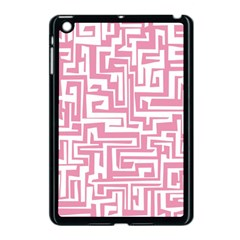 Pink Pattern Apple Ipad Mini Case (black) by Valentinaart