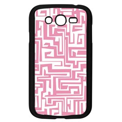 Pink Pattern Samsung Galaxy Grand Duos I9082 Case (black) by Valentinaart