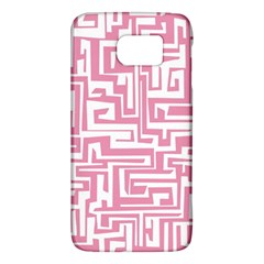 Pink Pattern Galaxy S6 by Valentinaart