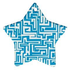 Pattern Ornament (star) by Valentinaart