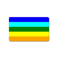 Rainbow Magnet (name Card) by Valentinaart