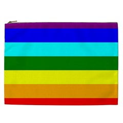 Rainbow Cosmetic Bag (xxl)  by Valentinaart
