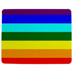 Rainbow Jigsaw Puzzle Photo Stand (rectangular) by Valentinaart