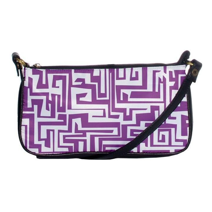 Pattern Shoulder Clutch Bags