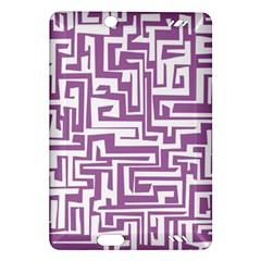 Pattern Amazon Kindle Fire Hd (2013) Hardshell Case by Valentinaart