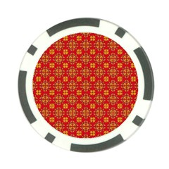 Pattern Poker Chip Card Guard by Valentinaart