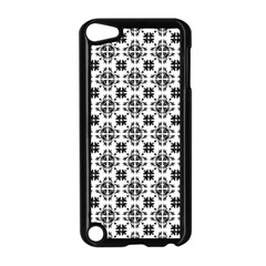 Pattern Apple Ipod Touch 5 Case (black) by Valentinaart