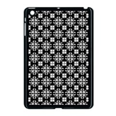 Pattern Apple Ipad Mini Case (black) by Valentinaart