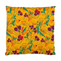 Floral Pattern Standard Cushion Case (one Side) by Valentinaart