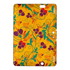 Floral Pattern Kindle Fire Hdx 8 9  Hardshell Case by Valentinaart
